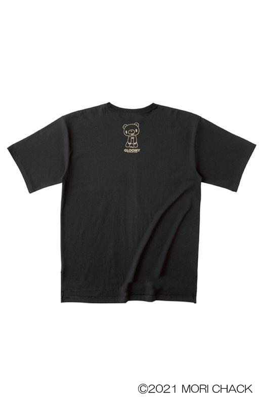 ゆるTシャツ(スカルVer.)【グル〜ミ〜×elements,H PARTY!!】