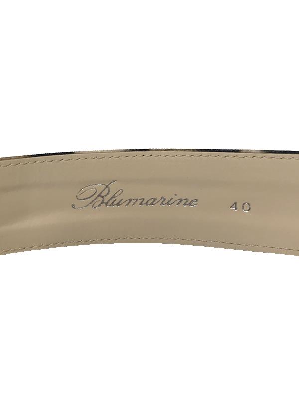 Blumarine/ブルマリン レオパードプリント ロゴバックルベルト 2021-22AW COLLECTION