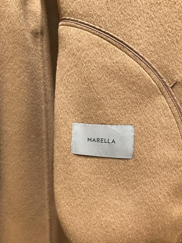 【SALE 50%OFF】MARELLA/マレーラ CUCHITO A MANOダブルフェイスロングコート 2019-20AW COLLECTION
