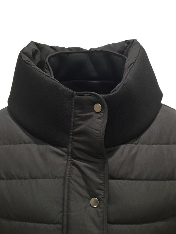 Artigiano/アルティジャーノ 異素材ダウンジャケット ブラック 2019-20AW COLLECTION