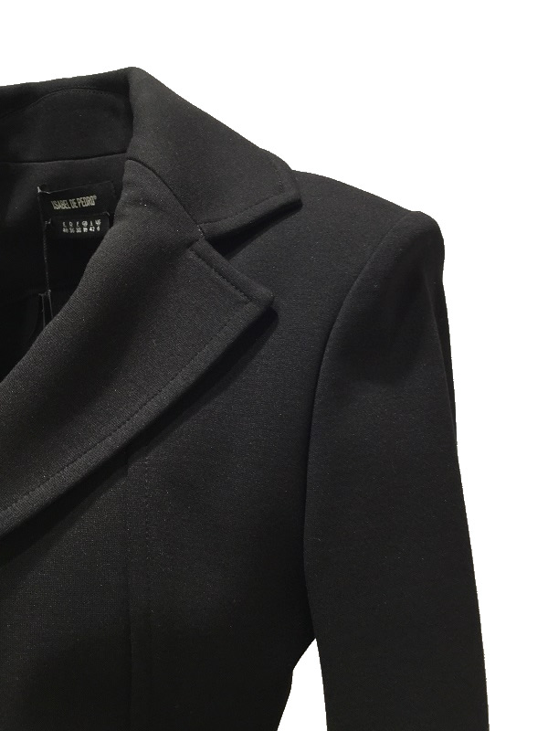 ISABEL DE PEDRO /イサベル デ ペドロ テーラードジャケット ブラック 2018-19AW COLLECTION