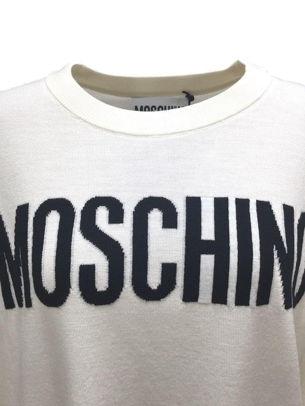 MOSCHINO/モスキーノ インターシャニットプルオーバー 2019-20AW COLLECTION