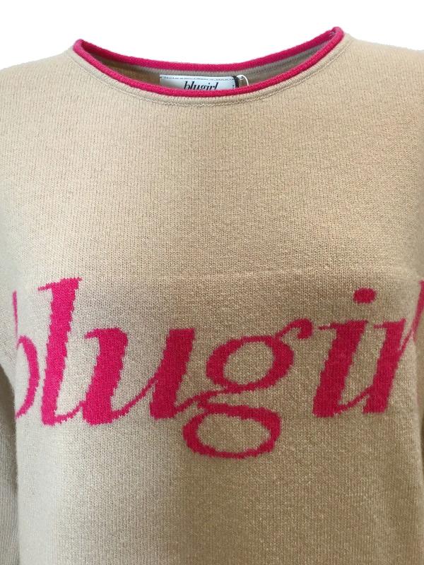 blugirl/ブルーガール ロゴニット 2018-19AW COLLECTION