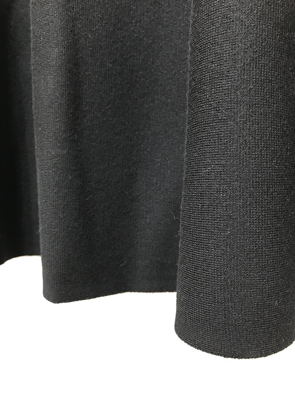 【SALE 50%OFF】ALLUDE/アリュード フレアニットスカート 2021-22AW COLLECTION