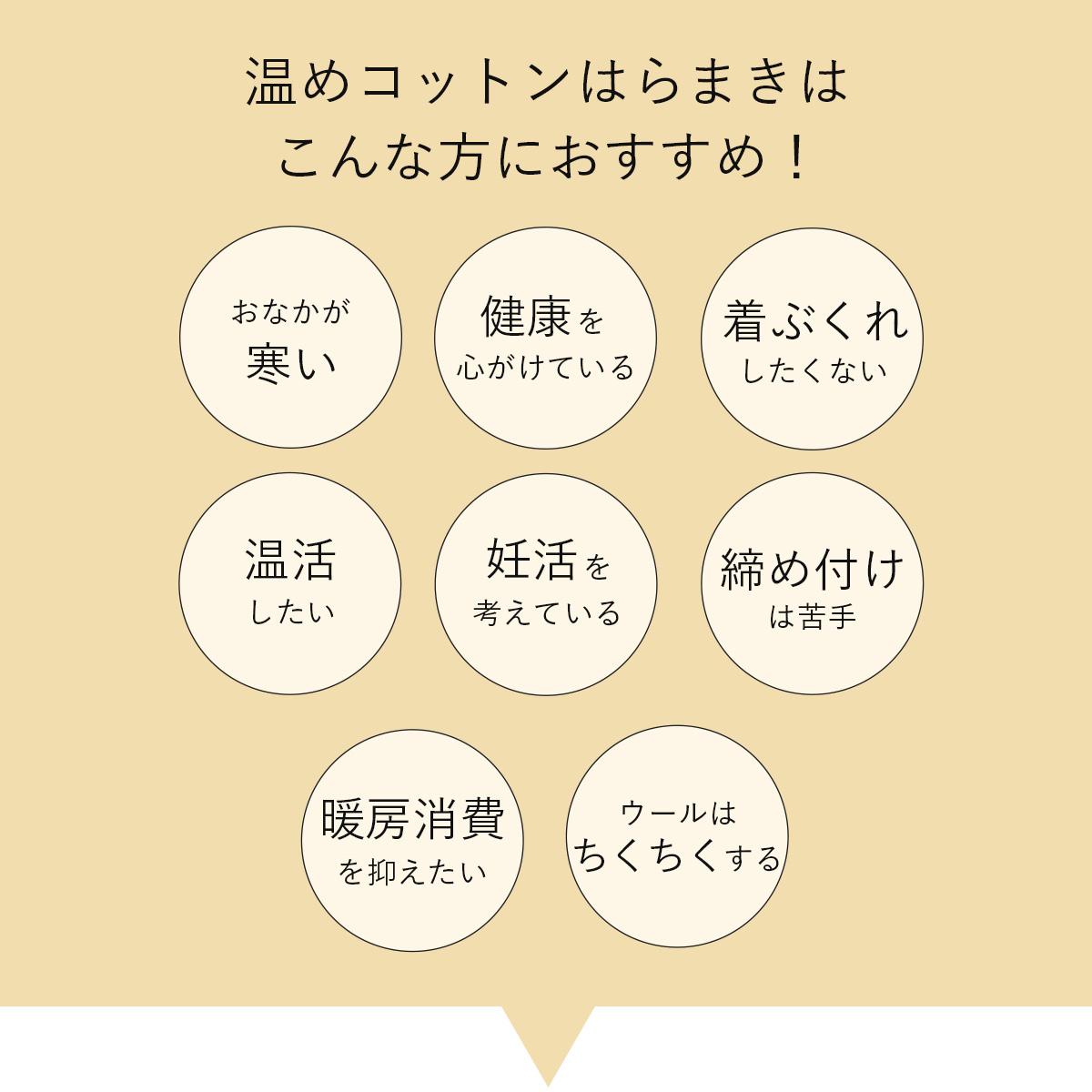 【オンラボ】 温めコットンはらまき | #ONLABO #腹巻き #日本製 #遠赤外線 #ホールガーメント #あったか #オーガニックコットン