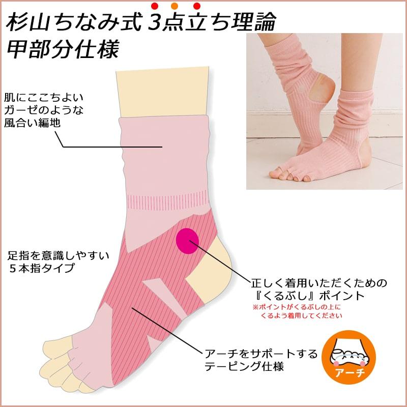 シャンティ 5本指 ヨガソックス【5色セット】shanti ヨガ ソックス ヨガ 靴下