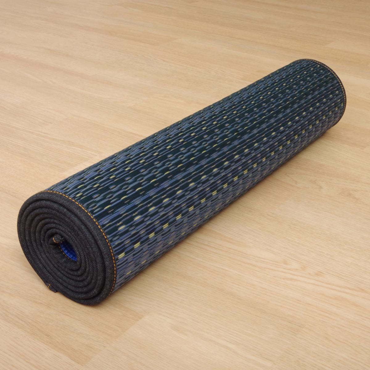 畳ヨガ 畳ヨガマット6mm イケヒコ│ヨガマット い草 PVC 滑りにくい 日本製