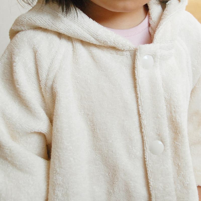 【天衣無縫】 お風呂くま&うさぎポンチョ【WI-010/WI-020】 | #てんいむほう #ポンチョ #オーガニック #ベビー #ギフト #オーガニックコットン100%