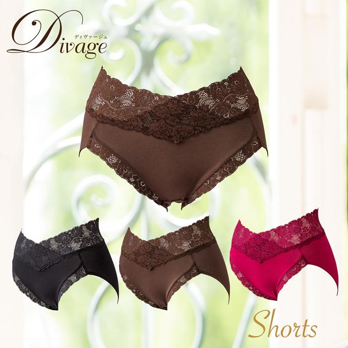 【ディヴァージュ】 ショーツ | #Divage #インナー #補正下着 #補正インナー #ショーツ #光電子®繊維