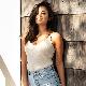 【アエラブルー】 リブロングブラレット | #AERABLUE #日本製  #綿100% #オーガニックコットン(カップ内側) #カップ付き #タンクトップ #ブラキャミソール