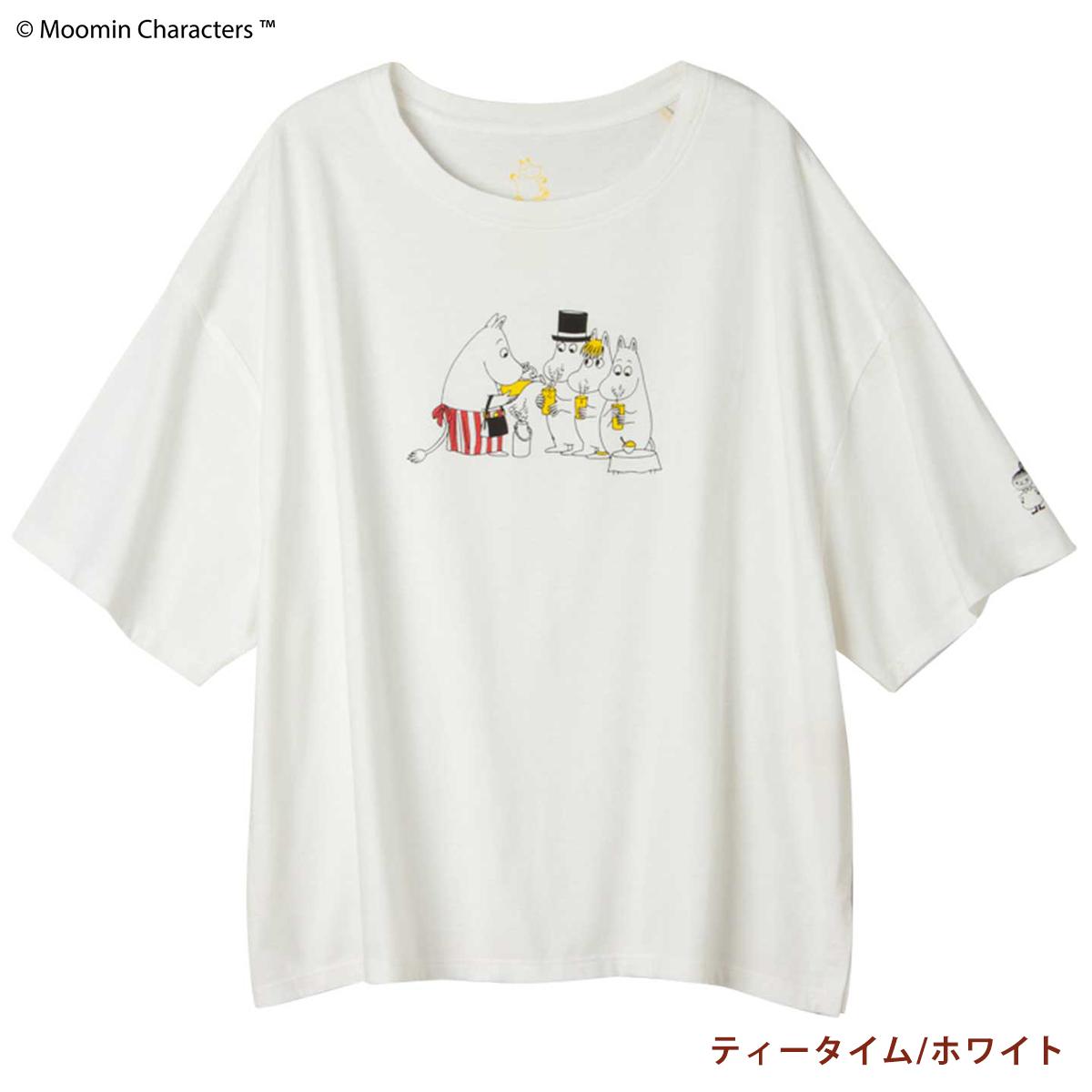 【ピープルツリー】 ムーミンOCプリントビッグTシャツ    #PeopleTree #ムーミン #フェアトレード #オーガニックコットン #Tシャツ