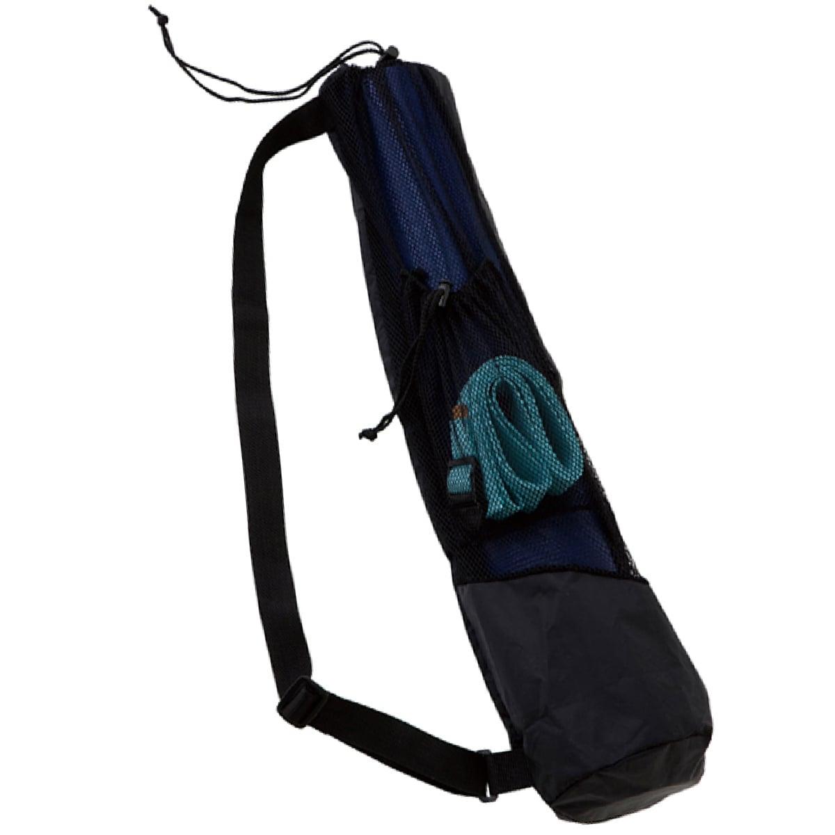 【ヨガワークス】 ポケット付メッシュバッグ | #yogaworks #ヨガマットケース #収納ケース #ヨガマット #持ち運び #6mm対応
