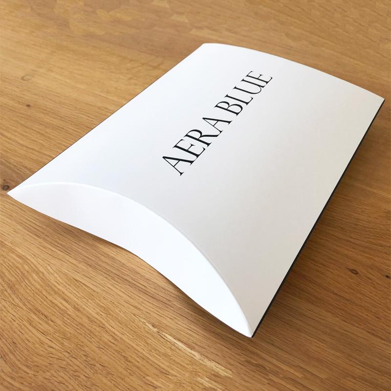 【アエラブルー】 ギフトボックス(セルフラッピングキット) | #AERABLUE #ブランドロゴ入り #プレゼント #贈り物