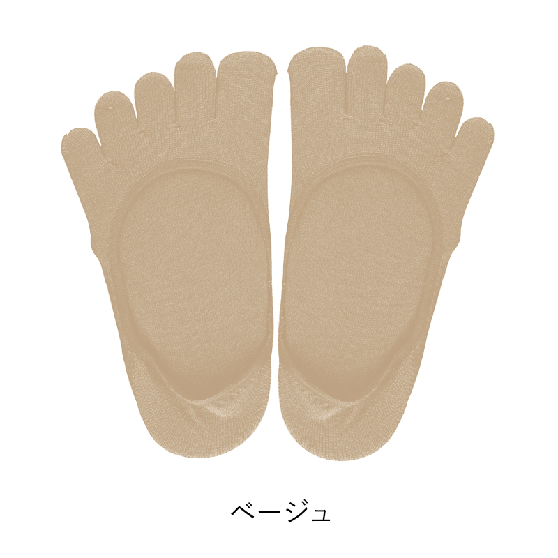 【コクーンフィット】 5本指フットカバー | #cocoonfit #靴下 #インナー #5本指 #シルク #ムレ #日本製