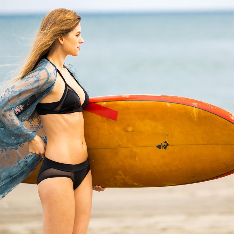 【アエラブルー】 トライアングルスウィムパンティ   #AERABLUE #yolo掲載 #日本製 #ショーツ #水陸両用 #水着 #ビーチ #プール #海水浴 #耐塩素