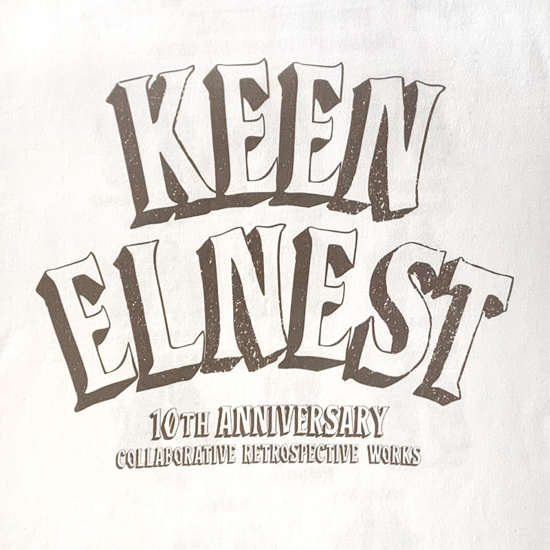 ELNEST×KEEN 10th Anniversary Tee
