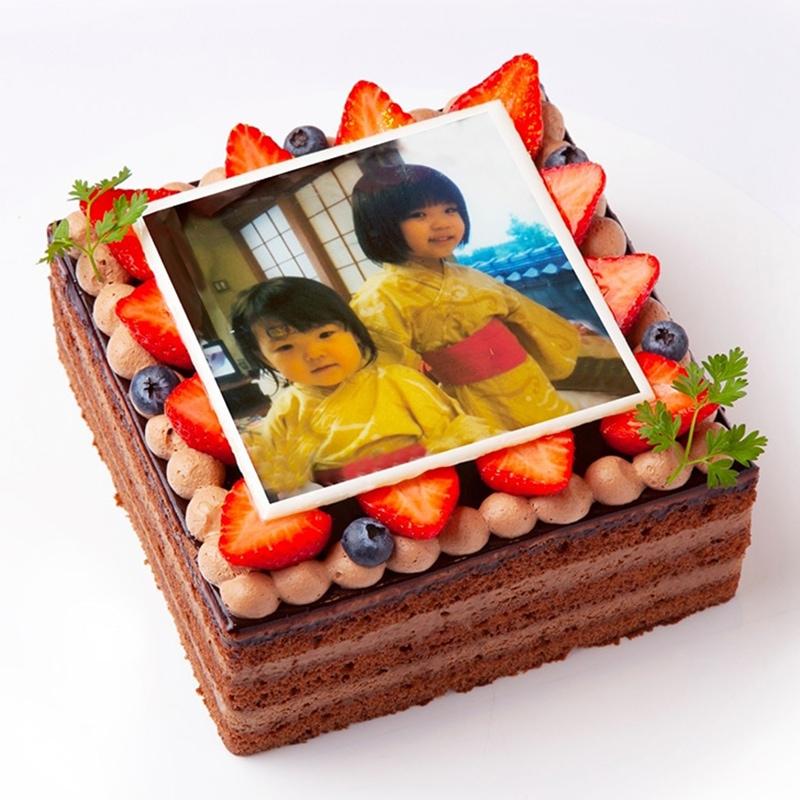 転写ケーキ