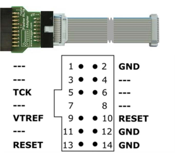 Flasher RL78 Adapter