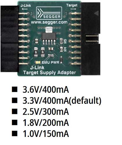 J-Link Target Supply Adapter