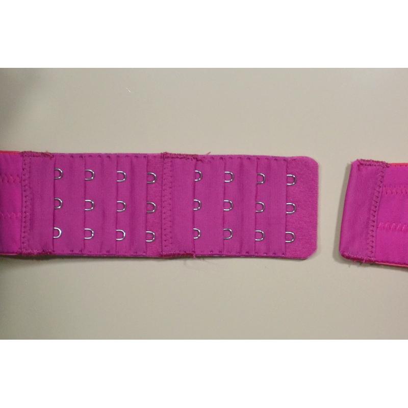 ダークなピンクで、大人の黒×ピンク。ノンワイヤーで優しく包む。授乳ブラ・マタニティブラ兼用