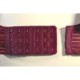 深みのある美しさ、マルーンカラーのノンワイヤーブラ。マタニティブラ・授乳ブラ兼用。