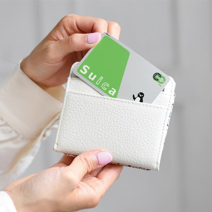 友禅文庫 フラワーガーデン コンパクト財布