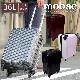 キャリーケース スーツケース トランク 機内持ち込みサイズ ハード 一年保証 mobac 軽量 軽い 出張 旅行 大容量 36L Sサイズ 1泊 2泊 四輪キャスター 360度 動きやすい TSAロック 高品質 おしゃれ モバック