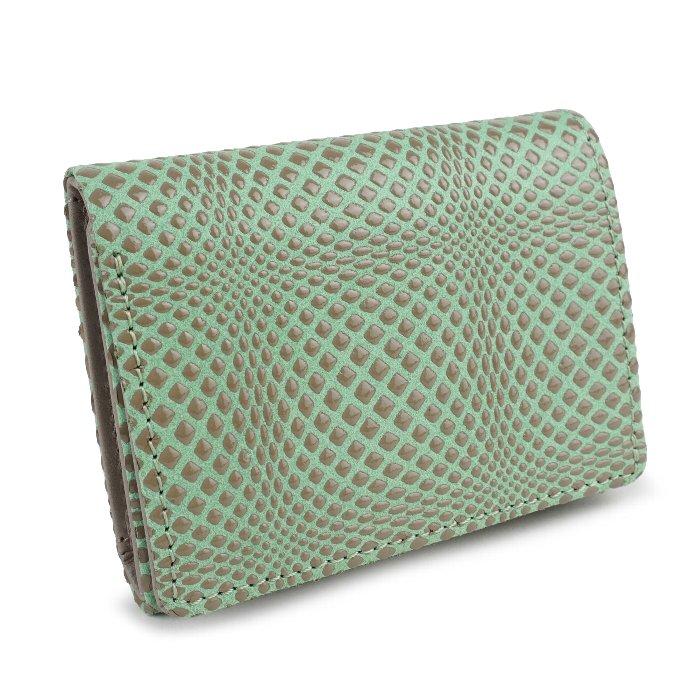 三つ折り財布 小さい財布 軽い 本革 日本製 革財布 羊革 エレガント 幾何学 ディメンション isuru JAPON