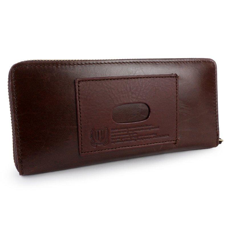 ラウンドファスナー長財布 束入 小銭入れあり メンズ 紳士 本革 牛革 馬革 パスケース LTD paccapacca