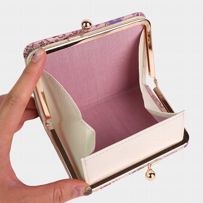 友禅文庫 スヌーピー 二つ折り財布