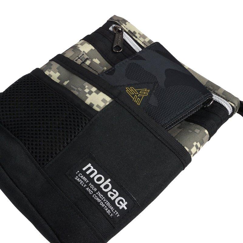 シザーバッグ サコッシュ ショルダー ベルト メンズ 軽量 スマート 3WAY ポケット ミリタリー かっこいい mobac