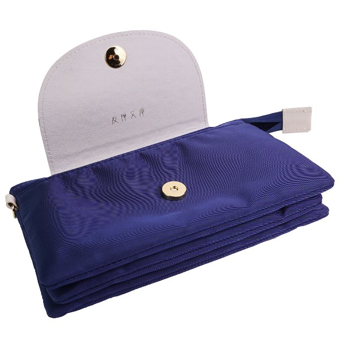 お財布ポシェット 財布 がま口 レディース 本革 ナイロン 日本製 軽い 軽量 きれい 上品 かわいい 花柄 フラワーガーデン 友禅文庫 母の日 ギフト プレゼント