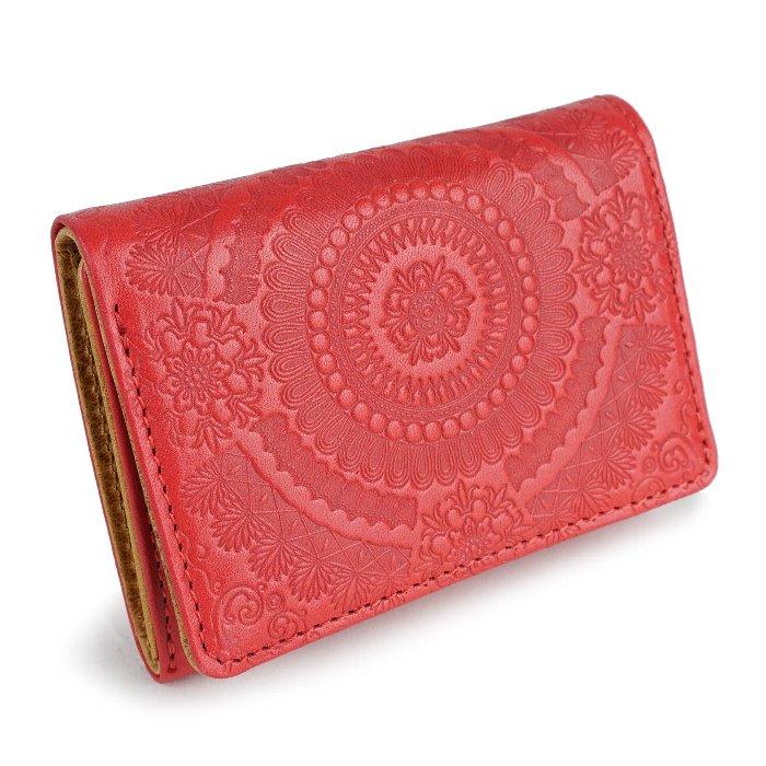 paccapacca アラベスク 三つ折り財布