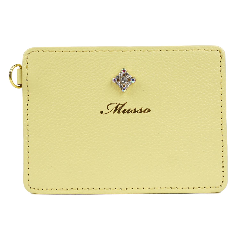 MUSSO ストラップ付きパスケース