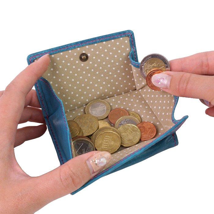 paccapacca キャンディ 三つ折り財布