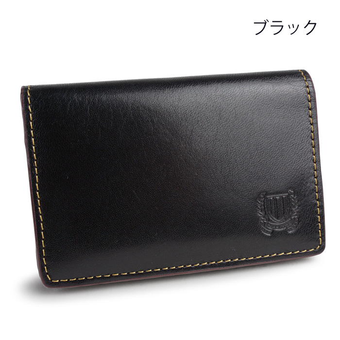 paccapacca エンブレム 名刺入れ