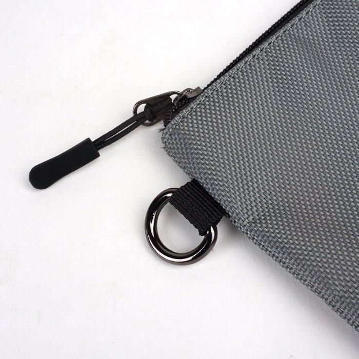 ポーチ 小物入れ 三連ポーチ メンズ シンプル カジュアル   旅行 ファッション オシャレ mobac