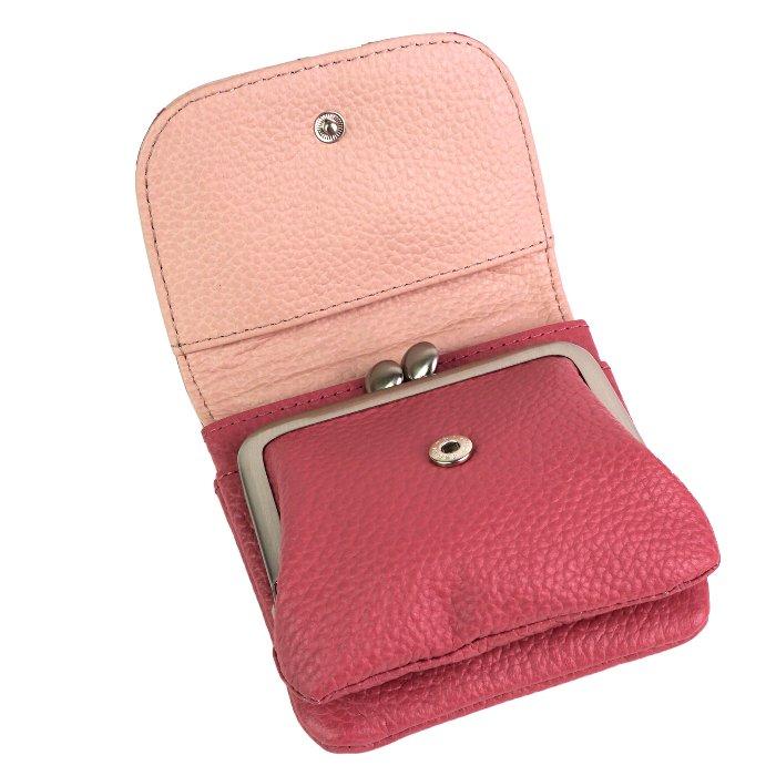 paccapacca ミルフィーユ かぶせがま口財布