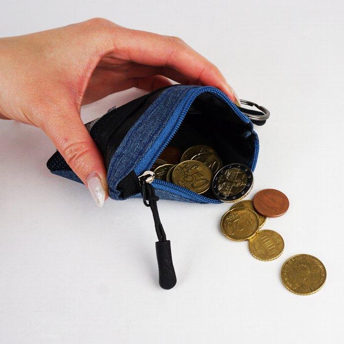 小銭入れ コインケース ミニポーチ 小物入れ 財布 メンズ コンパクト 4色展開 カジュアル mobac モバック ギフト 祝い プレゼント