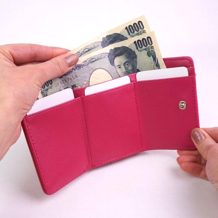 財布 三つ折り財布 レディース 小さい財布 がま口 大人 向け キュート リサとガスパール サイクリング Gaspard et Lisa キャラクター かわいい サイフ