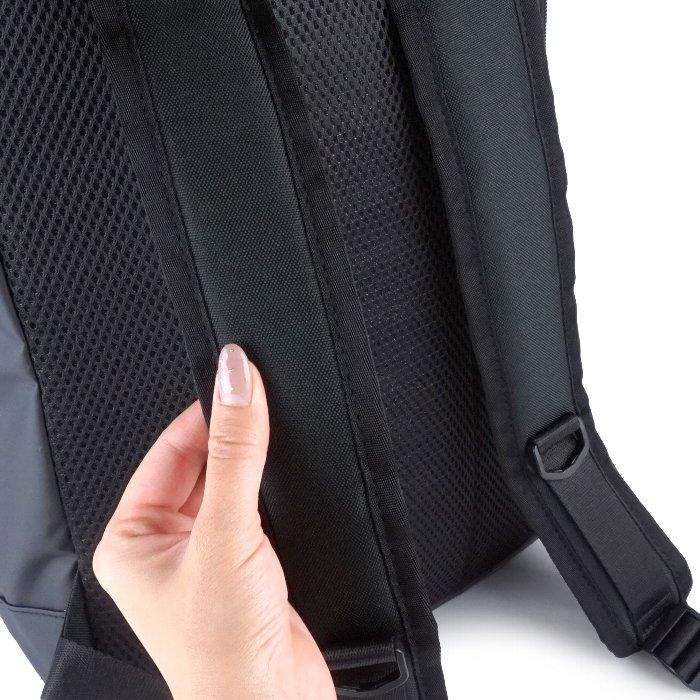リュックサック バックパック メンズ 大容量 軽量 スクエア ポケット 軽い ターポリン mobac