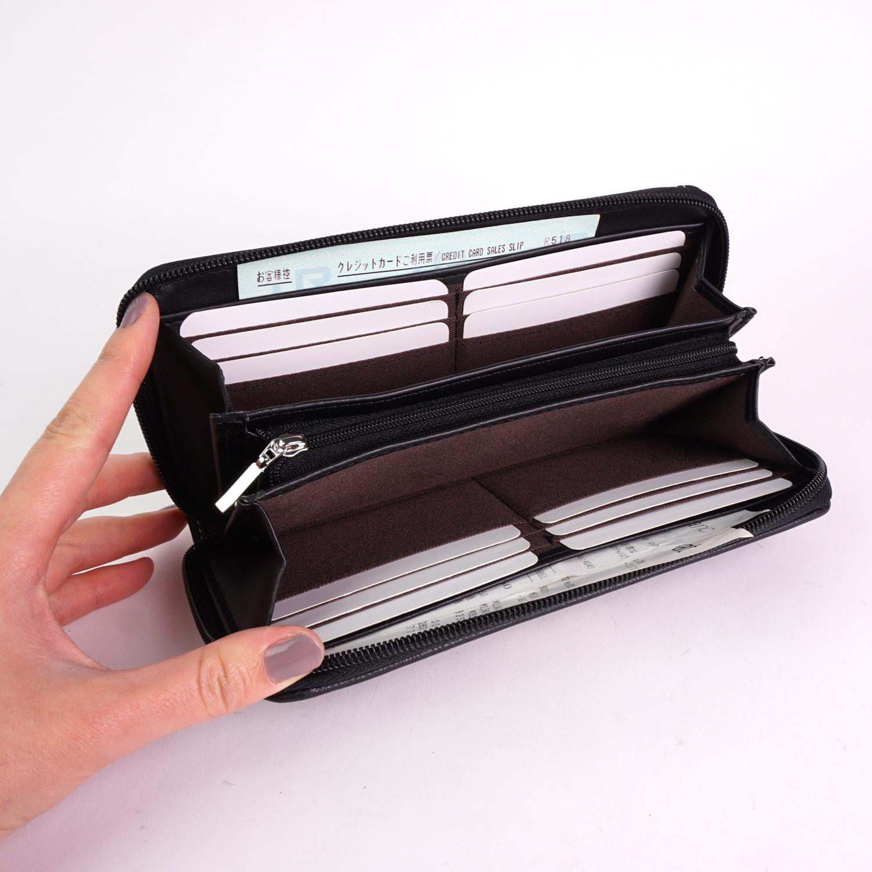 財布 長財布 レディース 大人 婦人財布 シンプル おしゃれ ALPHA CUBIC 大容量 サイフ プレゼント
