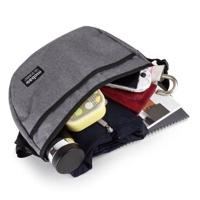 ショルダーバッグ メンズ 軽量 軽い ファスナー ファッション カジュアル シンプル mobac+