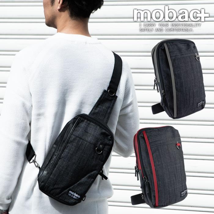 ボディバッグ ワンショルダー メンズ 軽量 軽い ファッション カジュアル シンプル デニム風 mobac+
