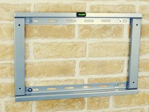 【60〜80型対応】汎用テレビ壁掛け金具 角度固定薄型 - PLB-104L
