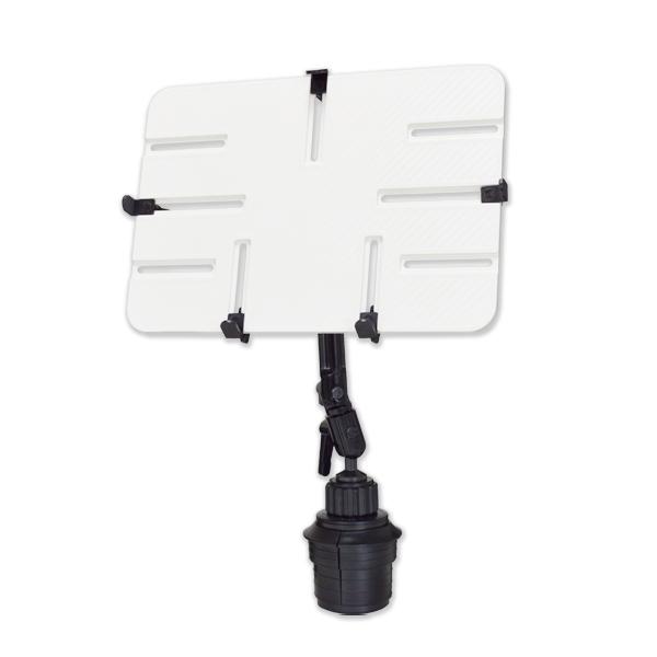 10-13インチ対応 車載用タブレットアーム カップホルダー・ドリンクホルダータイプ DORKAS-UPW