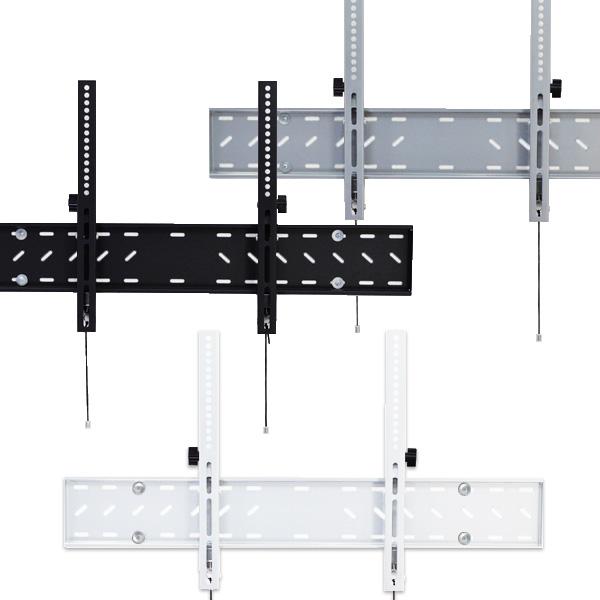 【42〜65型対応】汎用テレビ壁掛け金具 下向角度調節 - PLB-148M