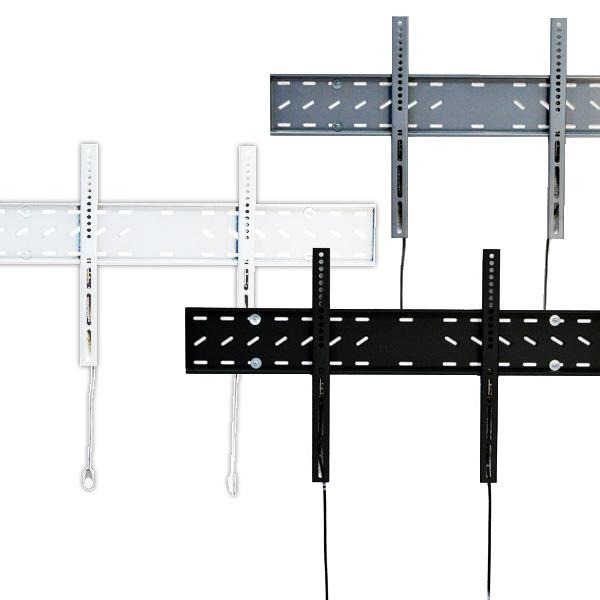 【42〜65型対応】汎用テレビ壁掛け金具 角度固定薄型 - PLB-141M