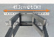 【32〜55型対応】汎用テレビ壁掛け金具 下向左右角度調節ダブルアーム - PLB-147M