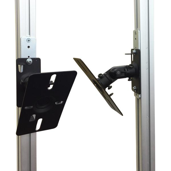 エアーポール2本とスピーカー取付け金具(ペア)のセット商品 AP-SWB101-2S